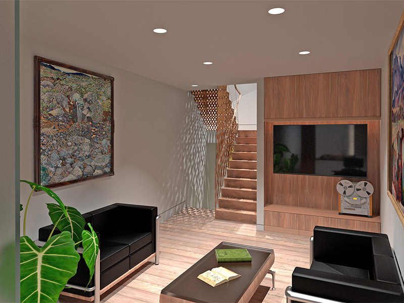 London new infill house architecture