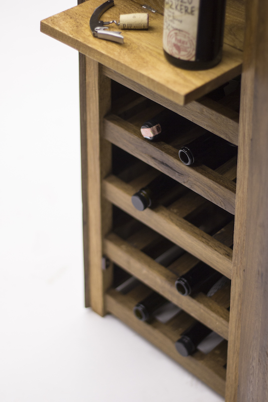 Oak wine storage