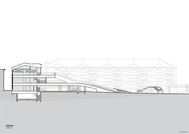 Landscape to building section