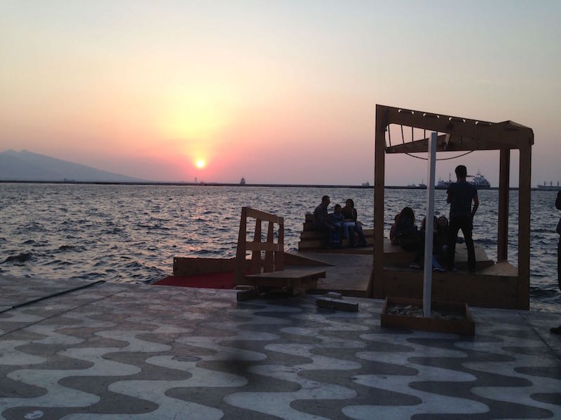 Izmir floating docks
