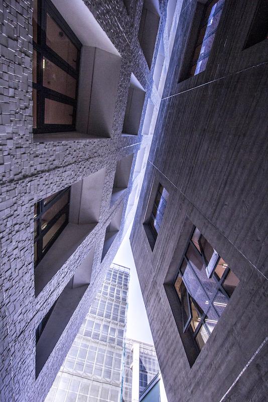 Inventive commercial architecture