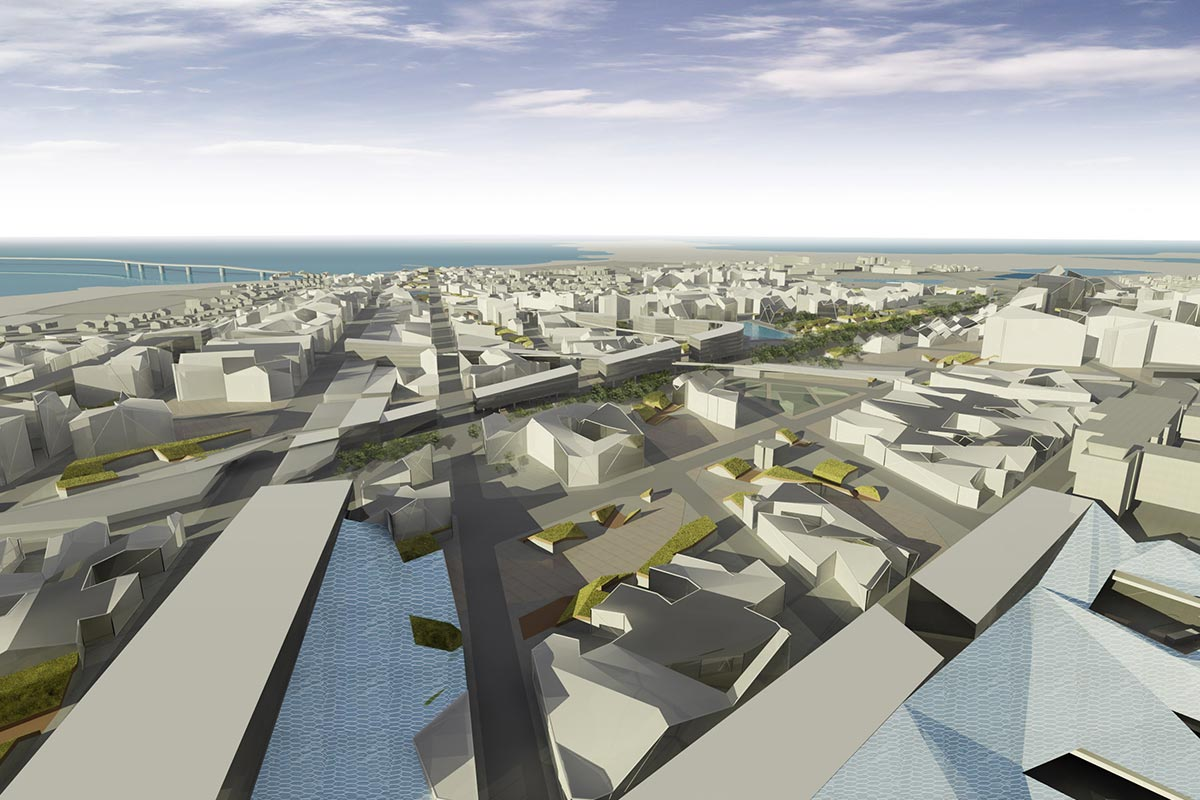 Parametric urban proposal