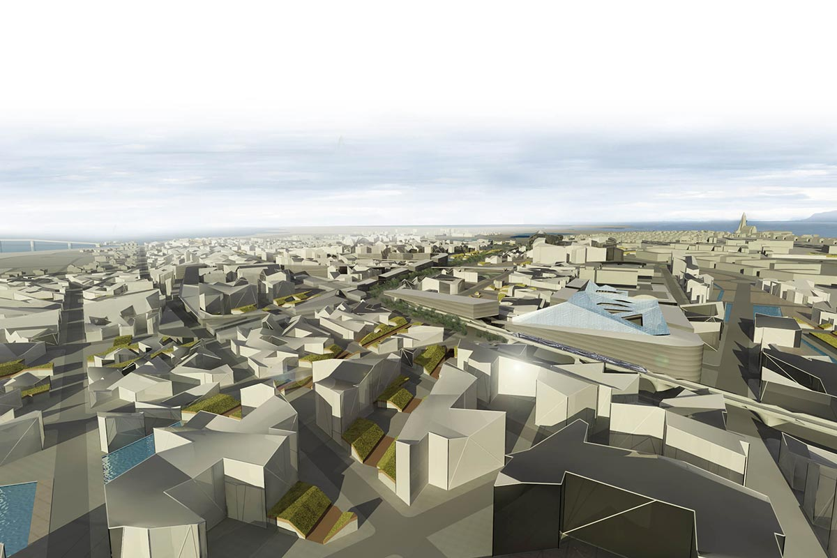 Parametric urban design