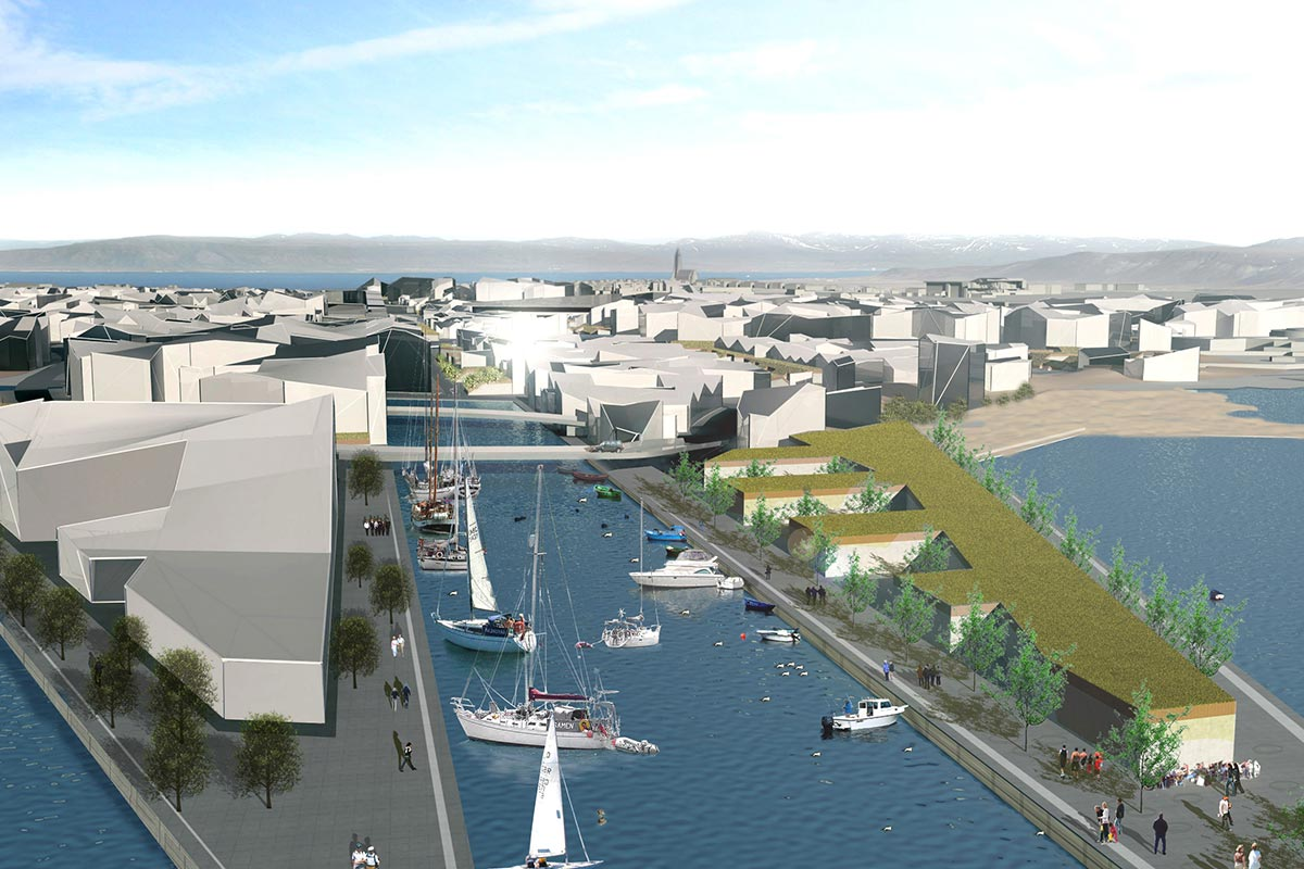 Turf City harbour